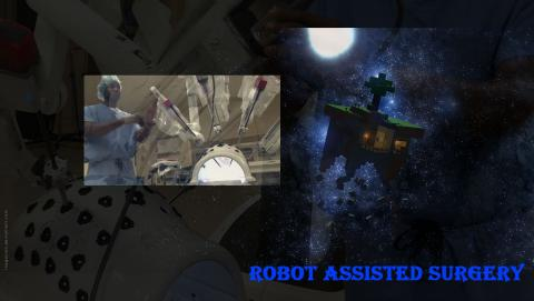 Robot assisted surgery