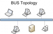 Bus network topology