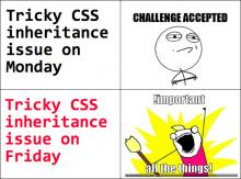 css3 cascade and specificity